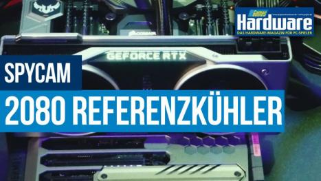 Nvidia Geforce RTX 2080 Ti Founders Edition in Aktion: PCGH-Spycam bei Nvidia
