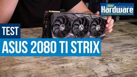 Asus Geforce RTX 2080 Ti Strix in Test: Header, Low and Overclocking