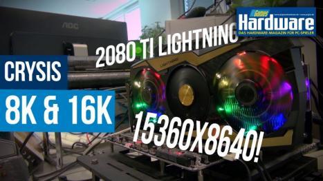 Can it run Crysis? 8K and 16K on the Geforce RTX 2080 Ti proprobi
