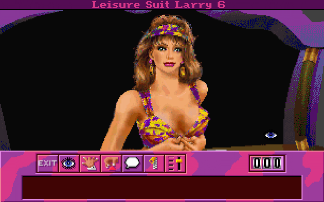 Leisure Suit Larry 6 (Bild: mobygames.com)- click on the image for more pics...