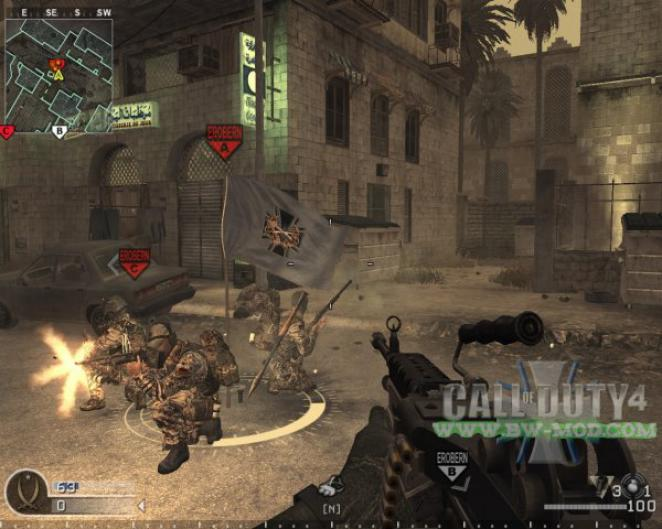 Screenshots zum Call of Duty 4 Bundeswehr-Mod - 20 Bilder in der Galerie