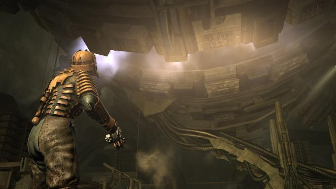 EAs bloody shooter 2008: Dead Space. More Pics in the gallery (Pic: EA)