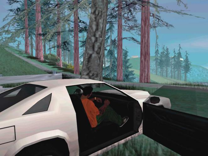 GTA San Andreas: Rockstar's series shows a lot but good textures are not included.