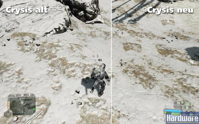 Possible texture improvements in Crysis: Warhead (picture: Source)