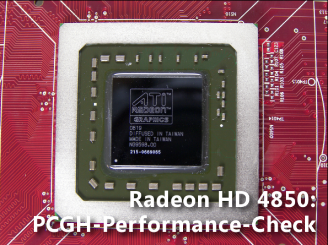 Radeon HD 4850: PCGH Benchmark Review