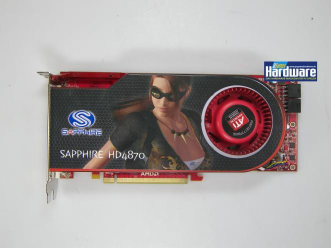 Number 1: Die Sapphire HD 4870 starting with 202 Euros