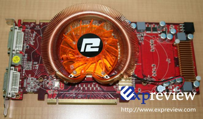 Number 3:  Powercolor Radeon HD 4850 128+ Euros (pictured is the 2 GByte version, expreview.com)