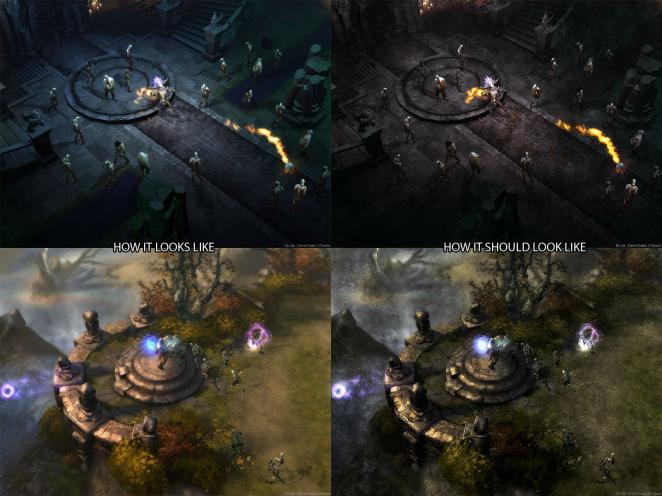 Diablo 3: Some fans want to have a darker ambience.