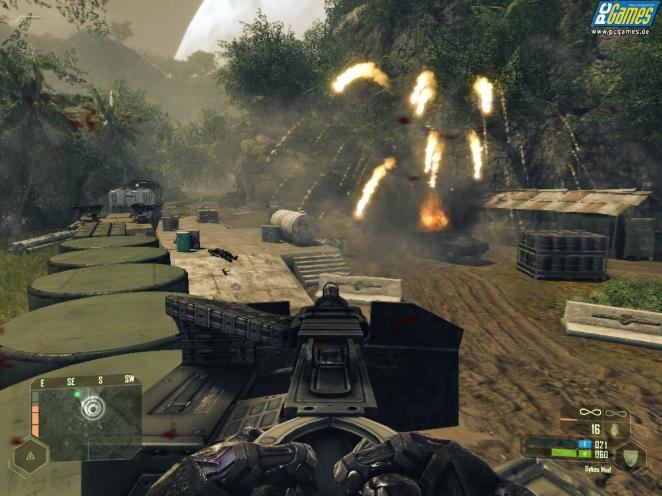 Crysis Warhead - screenshot from the review version