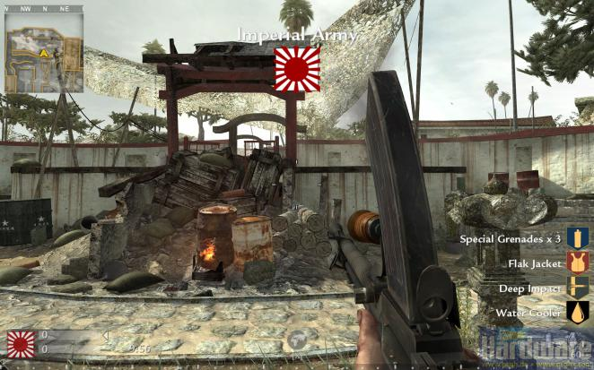 Call of Duty 5 World at War: Map Castle