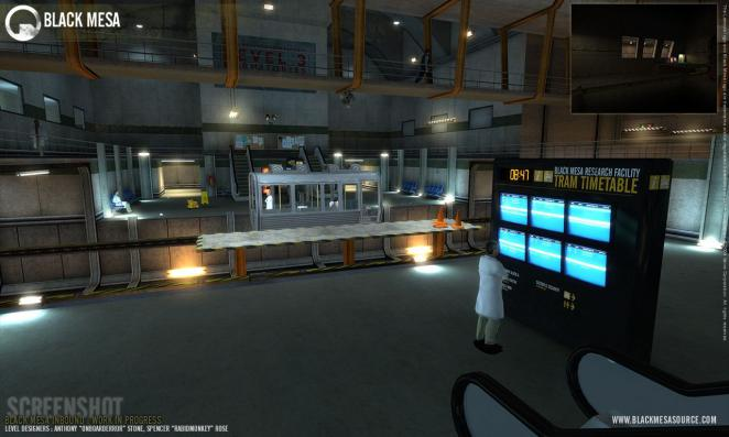 Black Mesa: Half-Life (dt.) 1 mit Source-Engine (Bild: blackmesasource.com) (1)