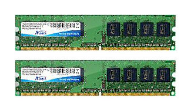 Auf Platz 2: A-DATA Value DIMM Kit 4GB PC2-6400U CL5 (DDR2-800)