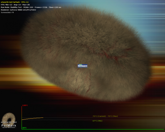 Furmark 1.6.0 - Extreme stress test for Geforce and Radeon graphics cards