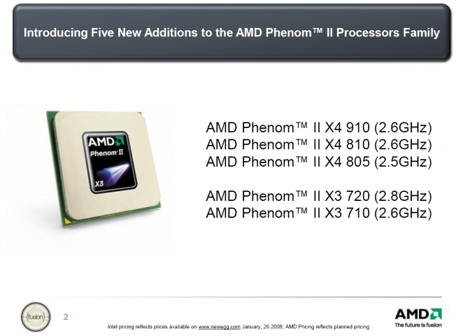 AMD introduces five new CPUs - two of them are for the retail market.