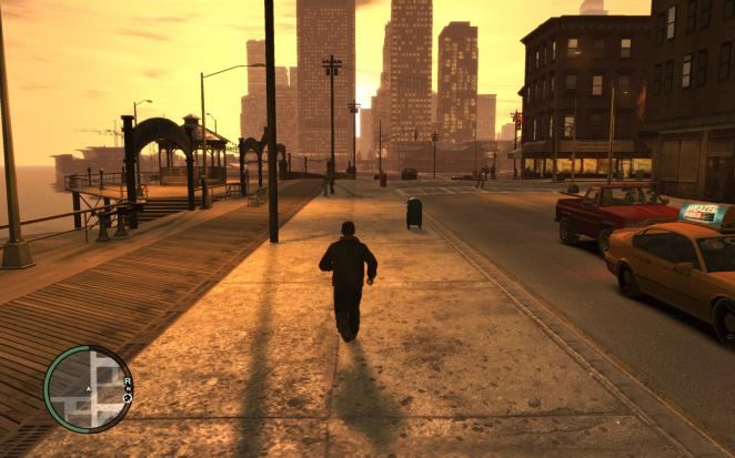GTA 4 (PC): PCGH benchmark sequence