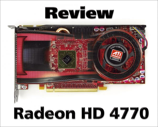 Radeon HD 4770 Launch-Review