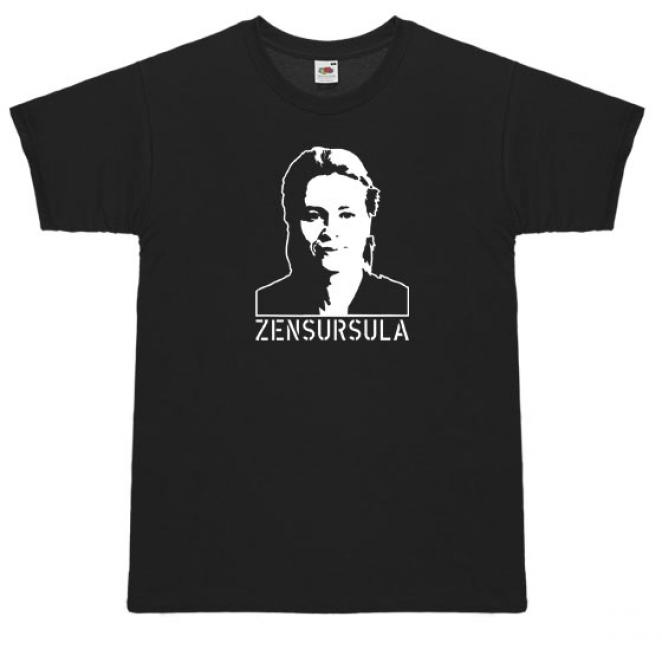 T-Shirt 'Zensursula