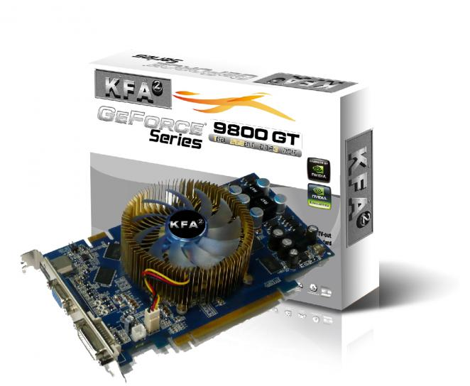 KFA2 Nvidia 9800 GT Green IT 1.024 MB