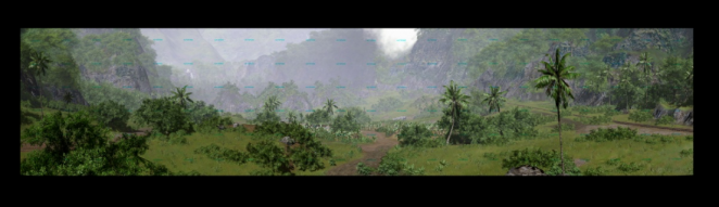 Crysis: 1.15 Gigapixel screenshot