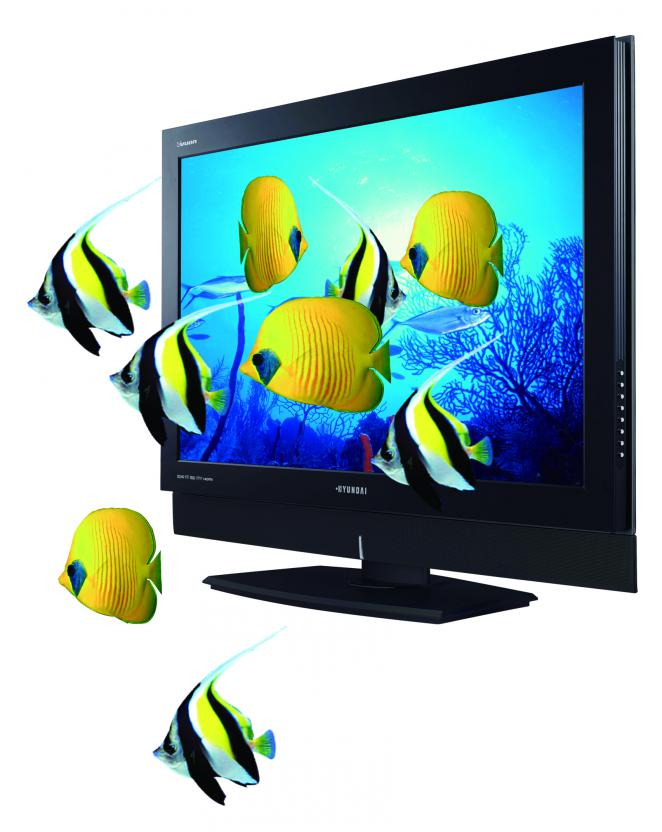 Hyundais neue IT Stereoscopic 3D Display. (1)
