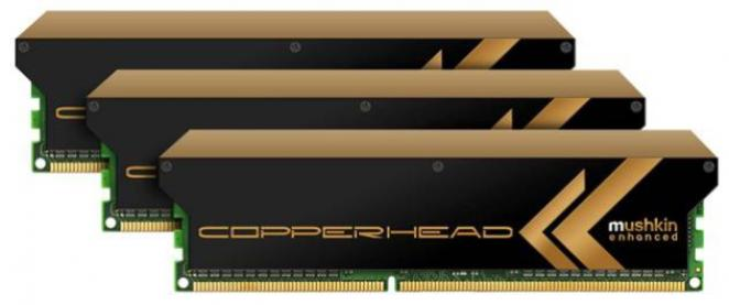 Probably Mushkin's new high-end RAM with copper cooler.