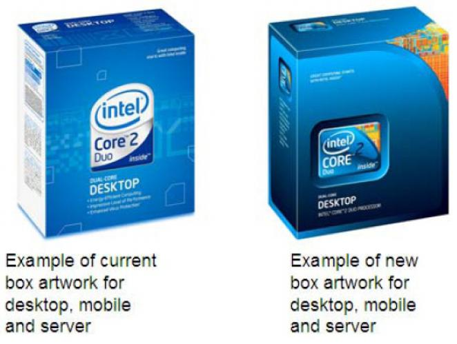 Intel changes retail packages for CPUs
