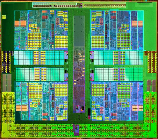The Propus Die in detail: four cores, but no L3 cache
