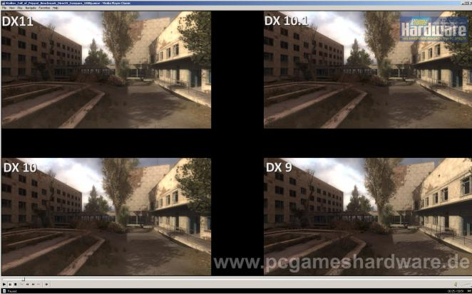 Stalker: Call of Pripyat - Benchmarks from DirectX 9 to DirectX 11