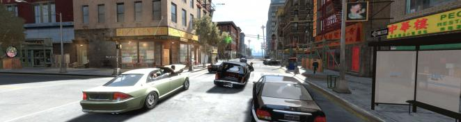 GTA 4 mit ENB-Mod, Vehicle Pack (Mods_cars_for_GTA_IV_PC_by_seba84_v6), Exaggerated blood v1.16 und Waffen-Mod. (1)