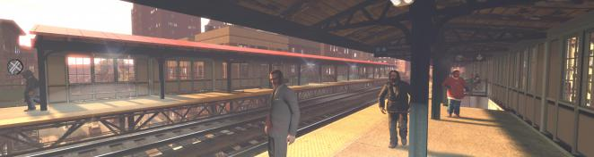 GTA 4 mit ENB-Mod, Vehicle Pack, Exaggerated blood v1.16, 'View in the Train' - Mod, Xenon HID Headlights V2, NYC Taxi Ford Crown Victoria, 'More Pedestrians' - Mod, 'Double View Distance Pedestrian' - Mod, 'More Stars' - Mod, Ultimate Textures V2.0 und EFLC-Waffen-Mod. (4)