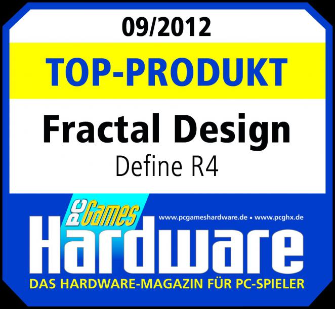 Top-Produkt-Award Fractal Design Define R4