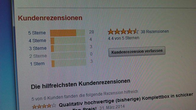 Streit um Kundenrezension auf Amazon eskaliert