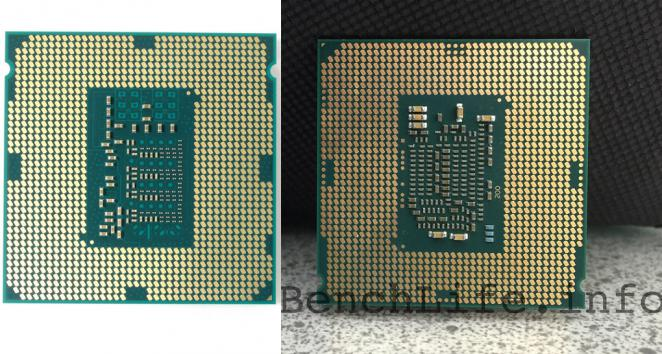 Vergleich: Ang. Skylake-Engineering-Sample (rechts) vs. Core i5-4690K (links)