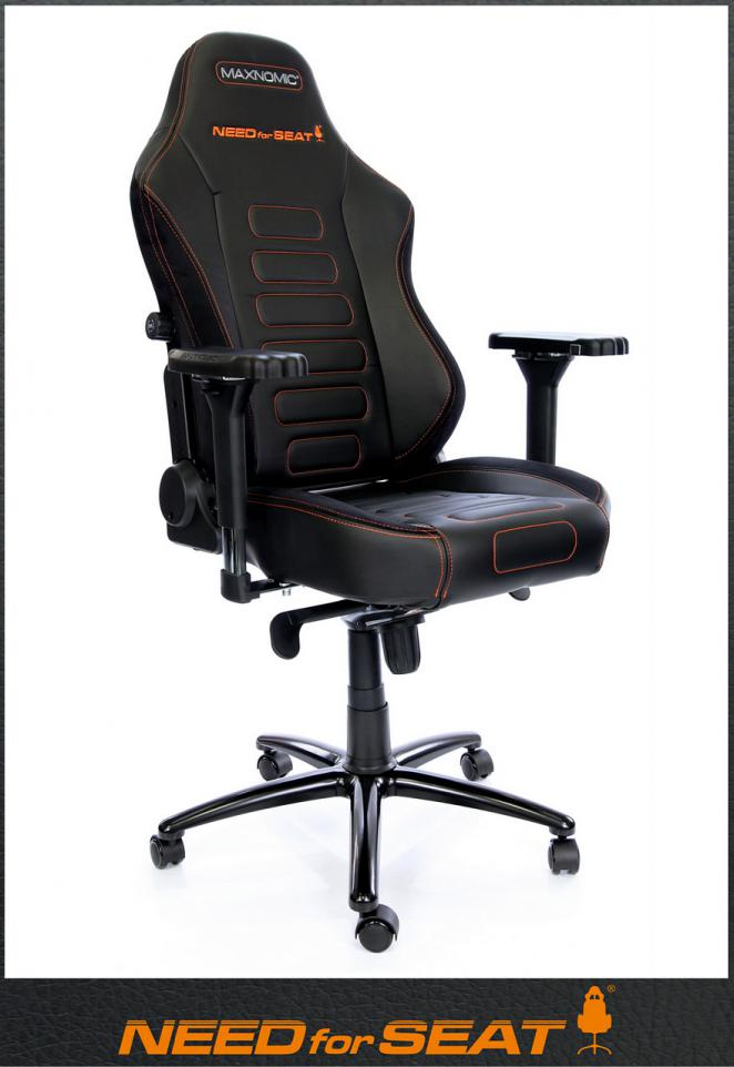 4 MAXNOMIC Gaming Stühle von NEEDforSEAT heute letzte