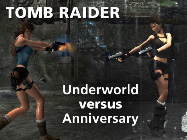 Tomb Raider Underworld: The direct comparison with Tomb Raider Anniversary