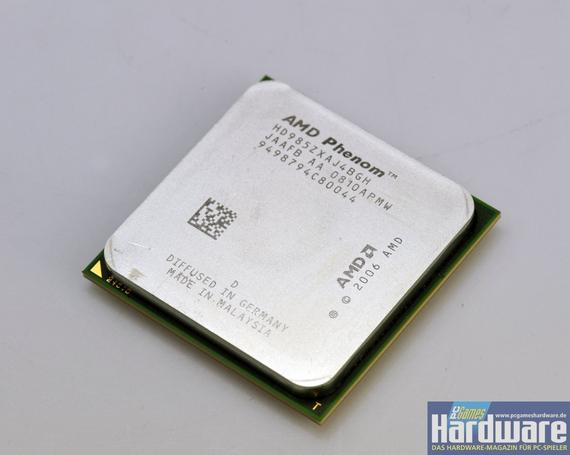 AMD Phenom 9850 BE: AMDs neues Top-Modell