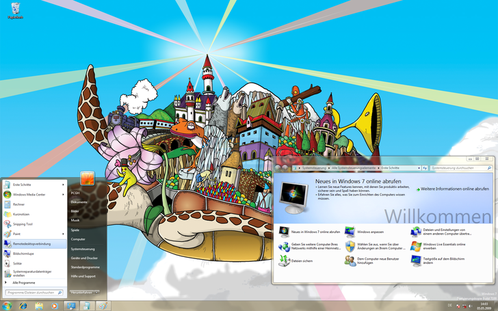 Windows 7 RTM Test (1)