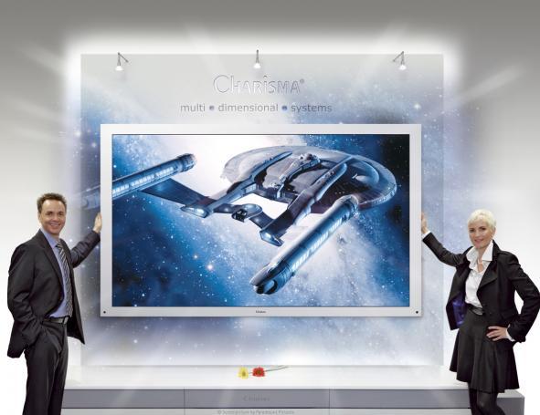 Zoll fernseher der mehrdimensionale darstellung ganz ohne 3d brille