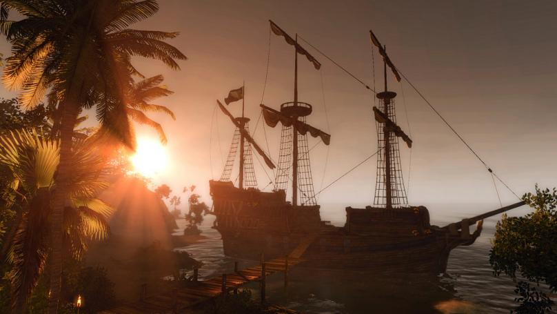 Exklusive Screenshots von Risen 2: Wallpaper-taugliche Impressionen mit viel Piraten-Flair