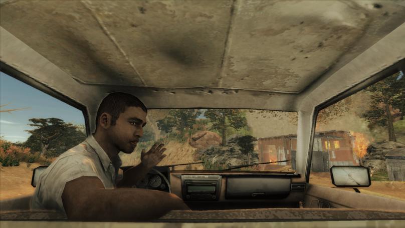 """Screenshot des Spiels """"Menschen auf der Flucht"""""""