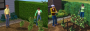 The Sims 3: Old vs. New</b>: There are worlds between those hedges. (Source: [url= http://snootysims.com/thesims3index.php?id=compare]snootysims.com[/url])