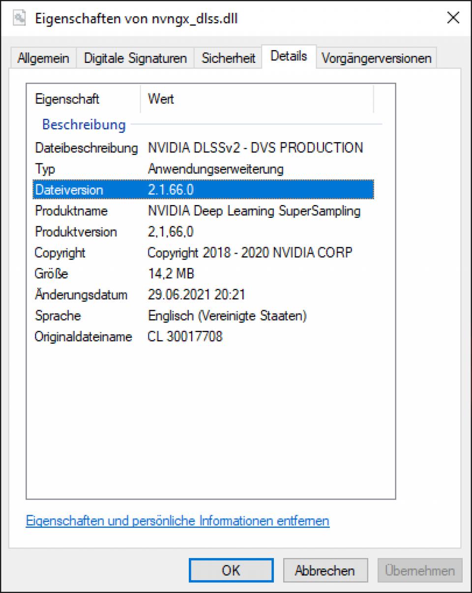 Doom Eternal Raytracing: DLSS 2.1.66