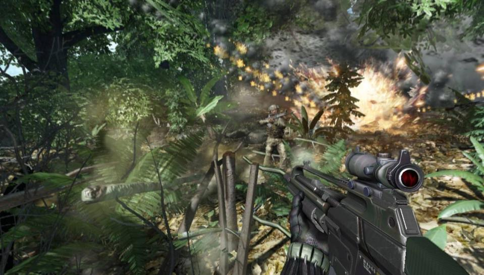 Crysis 2: This is what the Cryengine 3 that will be used for the game looks like. (1)