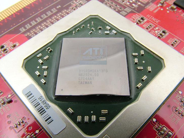 RV790: Very few information is known about the AMD GPU. (Picture: R600 Die)