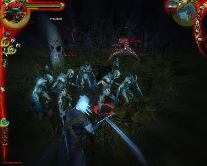Трейлеры и скриншоты The Witcher.