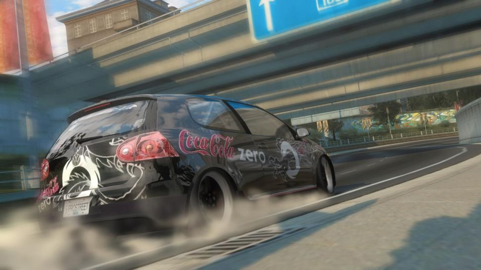 Nfs: Prostreet - Golf im Coke-Zero-Design