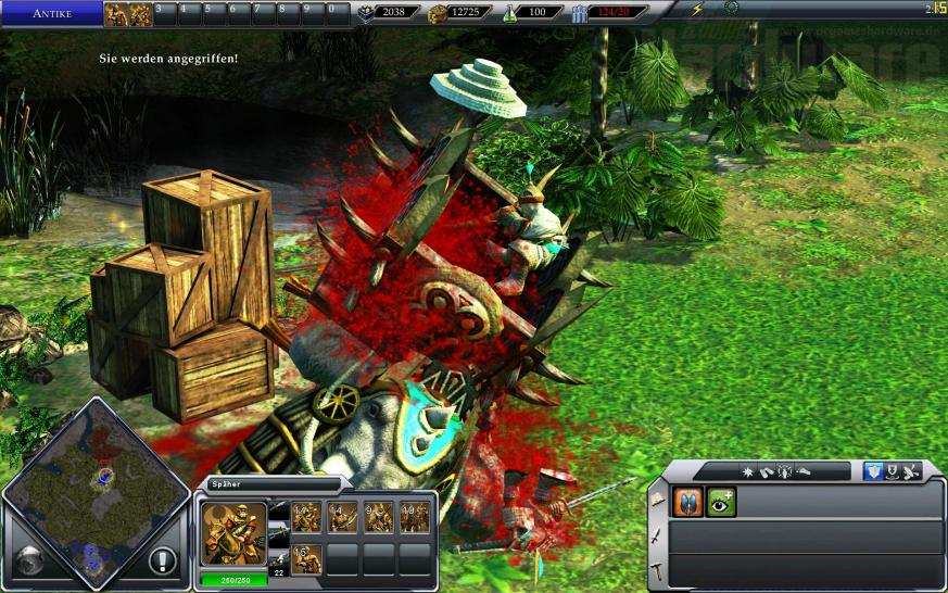 Empire Earth III, maximale Details/FSAA, 1.920x1.200 Pixel (Bild: PCGH)