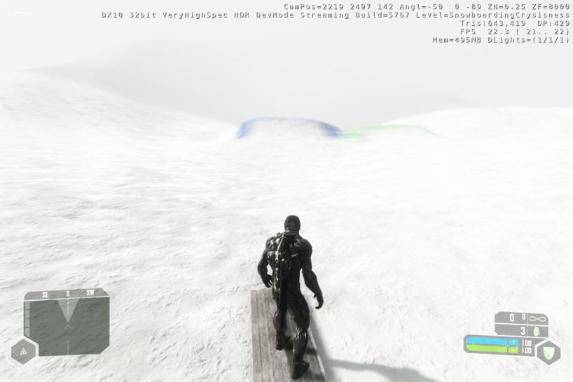 Crysis Map Snowboard
