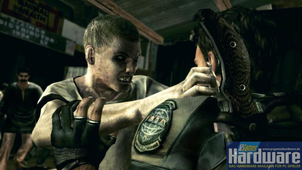 Rumour says that <b>Resident Evil 5</b> will become available for the PC, too.