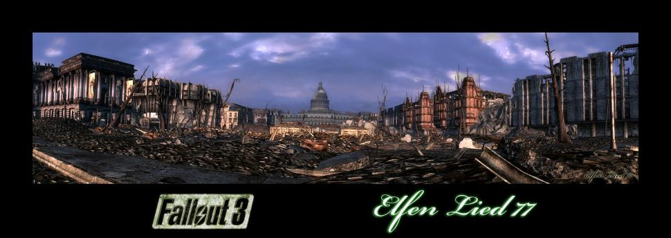 Fallout 3 - huge widescreen pictures (<a href=